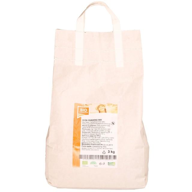 G - Rýže červená BIO 1 KS (3 kg)