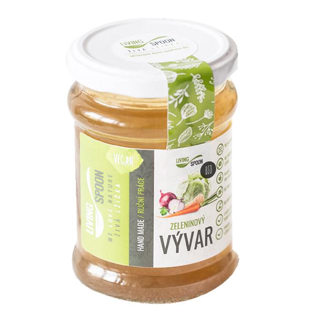 Zeleninový vývar Living Spoon BIO 250 ml