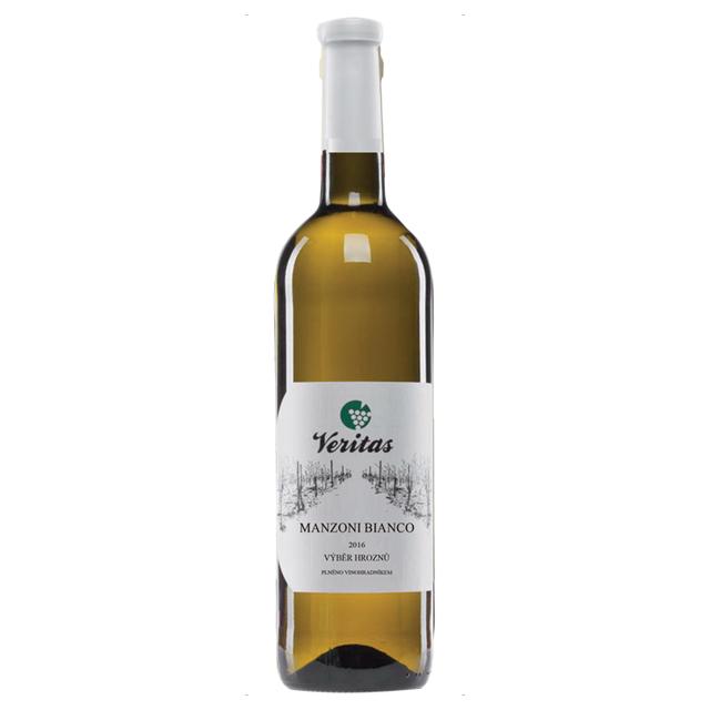 Víno bílé Manzoni bianco ročník 2016 Veritas BIO 750 ml
