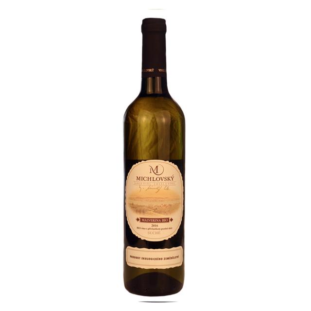 Víno bílé Malverina ročník 2016 Michlovský 750 ml