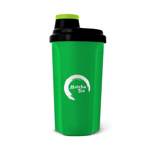 Matcha Tea - shaker černá / zelená 0,6 l