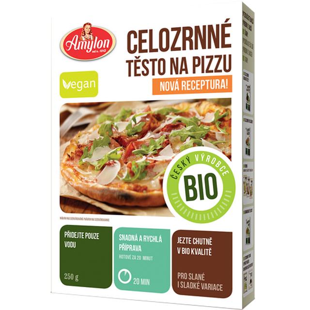 Celozrnná pizza v prášku Amylon BIO 250 g