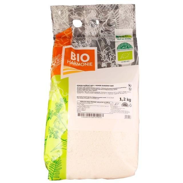 GASTRO - Kokos sušený (strouhaný) BIO 1 KS (1,2 kg)