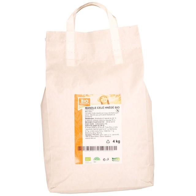 GASTRO - Mandle (celé hnědé) BIO  1 KS   (4 kg)