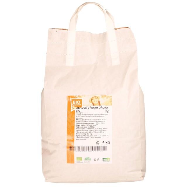 GASTRO - Lískové ořechy jádra BIO - 1 KS (4kg)