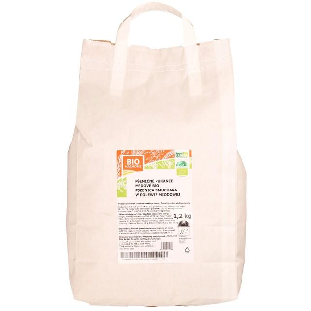 GASTRO - Pšeničné pukance medové BIO 1,2 kg