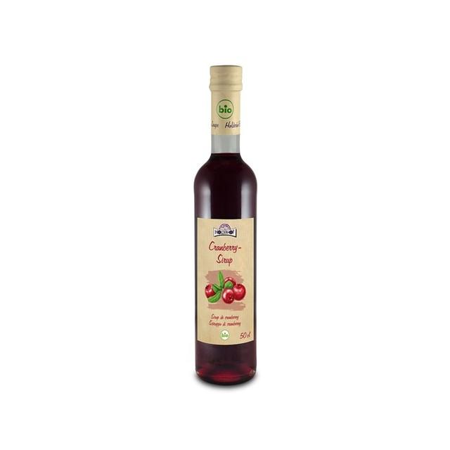 Sirup brusinka HOLDERHOFBIO 500 ml