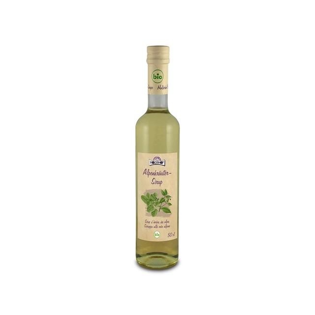 Sirup alpské byliny HOLDERHOFBIO 500 ml