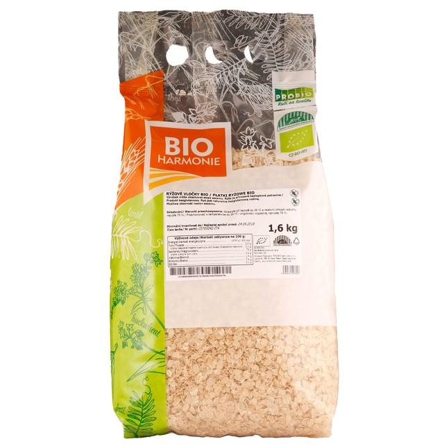 GASTRO - Rýžové vločky BIO 1 KS  (1,6 kg)
