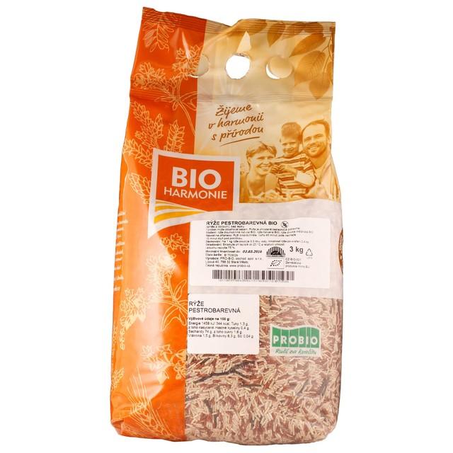 GASTRO - Rýže pestrobarevná BIO 1 KS (3 kg)