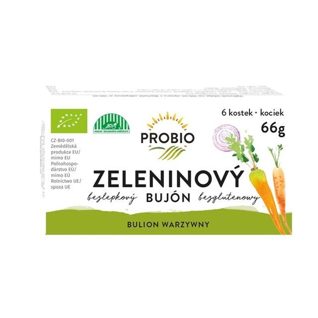 Bujón zeleninový - kostky 6 x 0,5 l 66 g BIO PROBIO