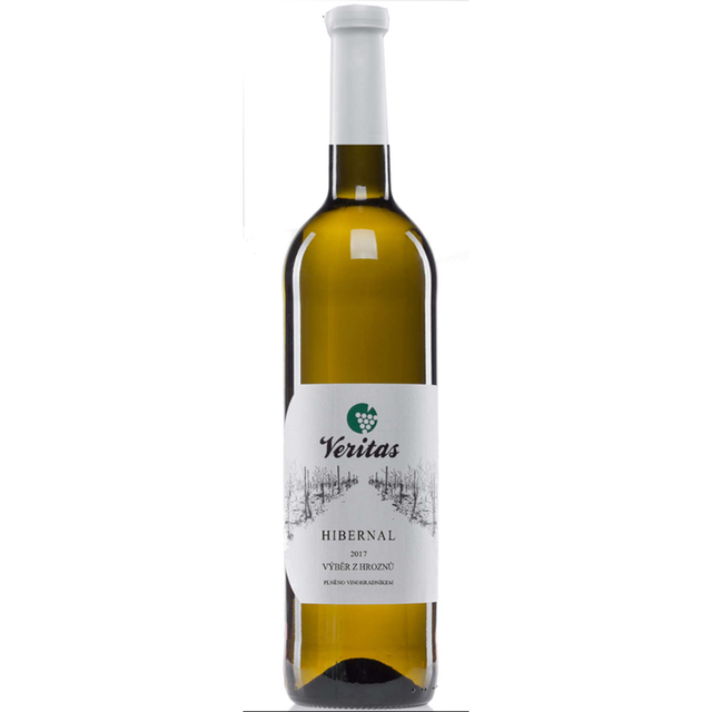Víno bílé Hibernal ročník 2017 - výběr z hroznů 0,75 l BIO VERITAS